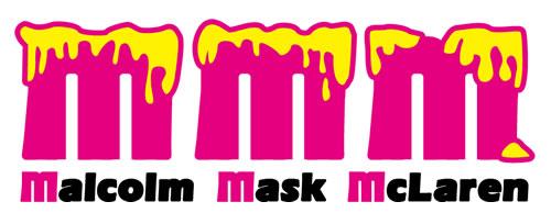 Malcolm Mask McLaren logo