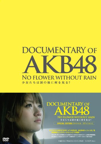 DOCUMENTARY OF AKB48 NO FLOWER WITHOUT RAIN [DVD]