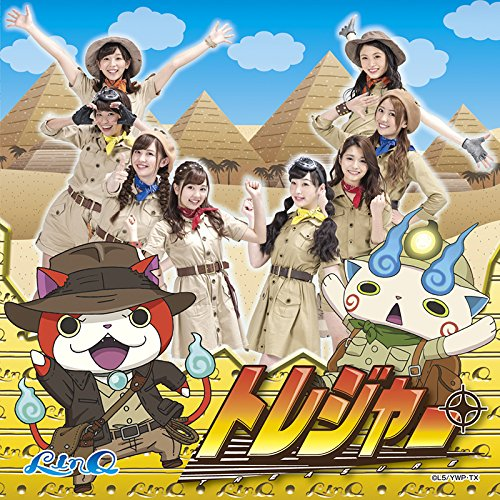 LinQ - Treasure (Youkai Watch version) [CD+DVD]