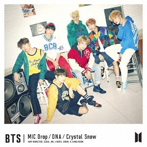MIC Drop/DNA/Crystal Snow(初回限定盤A) [CD]