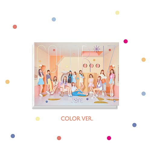 COLOR*IZ (COLOR version) [CD+Photobook+Photocards+2 Posters]